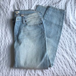 Brand new J. Crew ankle length stretch jeans!